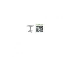 Airone - Lettino professionale prendisole impilabile in resina, 4 posizioni Grand Soleil