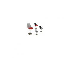 Tulip - Sedia sgabello replica design Eero Saarinen polipropilene,base cromata casa,ufficio,sala d'attesa,sala conferenze