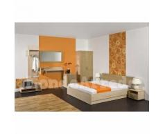 ABACUS - Arredo camera d'albergo matrimoniale - d) e) Comodino