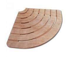 Pedana doccia 61x61 angolare in legno marino per piatti 80 cm ad angolo - DEGHI