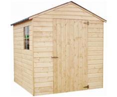 Casetta in legno da giardino Libera Rettangolare Dimensioni esterne 182,4x190 cm - 3,47 m2 Spessore