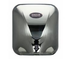 Sèche-mains automatique 1400W à air pulsé - séchage rapide- antibactérien - temps de séchage