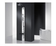 Colonna doccia attrezzata in alluminio novellini think 1 | Meccanico - Senza Seduta