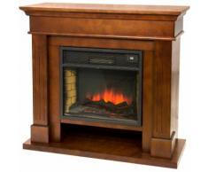 Divina-fire Camino elettrico 2000W effetto fiamma viva riscaldamento VULCANO-M - DIVINA FIRE