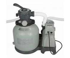 Intex Pompa a sabbia 10500l/h per filtrazione pulizia acqua piscina grande 28648