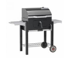 Landmann Barbecue a Carbone Dorado 56x42 cm Nero 31401
