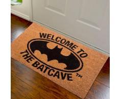ZERBINO BATMAN WELCOME TO THE BATCAVE PYRAMID FIBRA DI COCCO 60X40 CM TAPPETO - DC COMICS