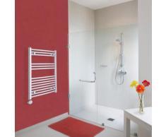 Scaldasalviette Elettrico di Design - Acciaio Cromato - Curvo - 800 x 600mm - Ischia - HUDSON REED
