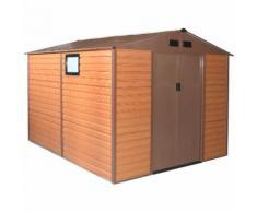 Habit Box Casetta giardino doppio spessore lamiera 277x319xh218cm FOREST XL-PLUS - BRICOBRAVO