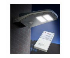 Lampione Stradale Solare a Led Giardino con Telecomando e Sensore di Movimento CALLISTO - SUPERNOVA
