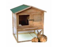 Casetta Legno 3-4 Conigli Gabbia Roditori Criceti Giardino Orto Recinto Animali - GMR