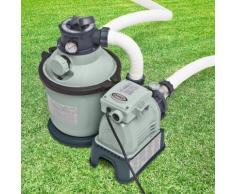 Intex Pompa a sabbia 4500l/h per filtrazione pulizia acqua piscina grande 28644