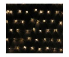 Luci Natale LED a rete 7 x 0,8 m., per interni ed esterni - VIDAXL