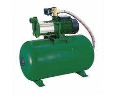 Compressore 60 L dotato di pompa Jet di superficie 5 turbine autoadescante - RIBIMEX
