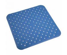 Tappetino doccia azzurro quadrato mod. Kino - METAFORM