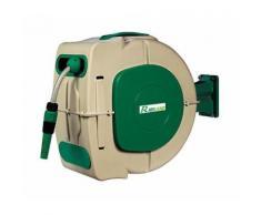 Avvolgitubo automatico 10 metri irrigazione giardino automatico tubo - RIBIMEX
