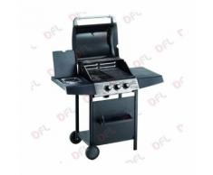BARBECUE A GAS 'EXPERT 3 ECO' cm. 48x38 - h. cm. 85 OMPAGRILL