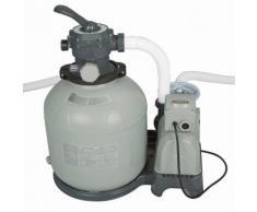Intex Pompa a sabbia 12000l/h per filtrazione pulizia acqua piscina grande 28652