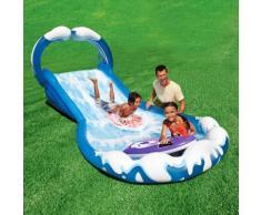 Intex Scivolo surf gonfiabile gioco bambini giardino piscina 442x168x163cm
