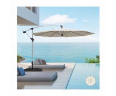 Ombrellone giardino 3 metri braccio decentrato alluminio ottagonale bar hotel - PRODUCESHOP