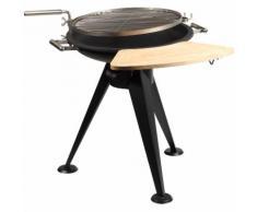 Barbecue a Carbonella in Acciaio 55cm - TRISTAR