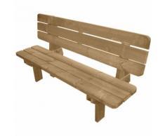 Evergreen Panca panchina legno impregnato 180x40cm EG51251