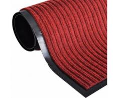 Zerbino Rosso PVC 180 x 240 cm - VIDAXL