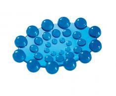 Portasapone Da Appoggio Azzurro Modello Spot