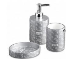 Hello Kitty Accessori Bagno Serie Silver
