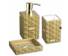 Hello Kitty Accessori Bagno Serie Gold