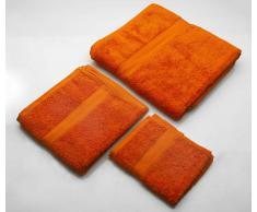 Set Asciugamani Arancio