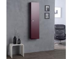Colonna Scaffale Sospesa 31 Cm Rosso Amaranto Simply