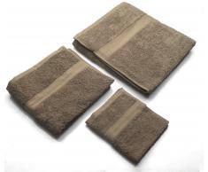 Set Asciugamani Marrone