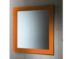 Specchio Da Bagno Modello Magic Finitura Arancio