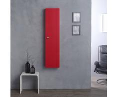 Pensile Colonna Sospesa 31 Cm Rosso Lampone Per Bagno