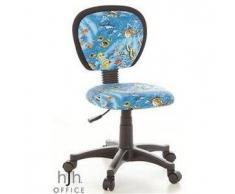 Sedia ergonomica per bambini e ragazzi KIDDY BASE, motivo aquarium