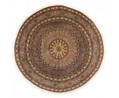 Tappeto Tabriz 50 Raj con seta Ø 249 Tappeto Persiano, Rotondo