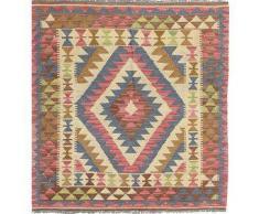 Tappeto Kilim Afghan Old style 98x105 Tappeto Orientale, Quadrato
