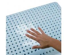 Guanciale in lattice Che assorbe l'umidità corporea cambiando colore. Misure 40x70 H12 Cm