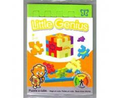 Cube HAPPY CUBE LITTLE GENIUS ANIMAL Gioco Puzzle 3d Per bambini 3A+