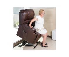 Poltrona Relax Alzapersona con Massaggio Craftenwood 6014
