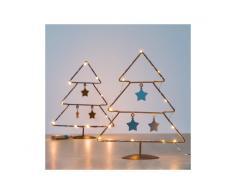 Albero di Natale con Stelle (10 LED)