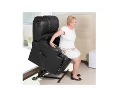 Poltrona Relax Alzapersona con Massaggio Craftenwood 6011