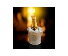 Candela Decorativa Champagne
