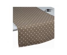 Tenda a pannello a pois beige - Little Gala Collezione by Loomin Bloom