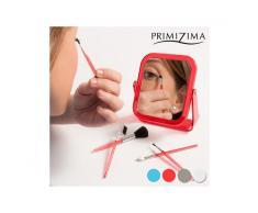 Specchio con Pennelli per il Trucco Primizima (6 pezzi)