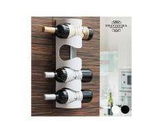 Portabottiglie da Vino in Metallo Bravissima Kitchen