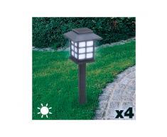 Lampada Solare da Giardino (pack da 4)