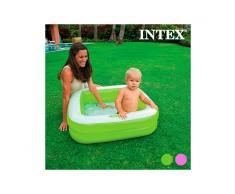 Piscina Gonfiabile per Bambini Quadrata Intex