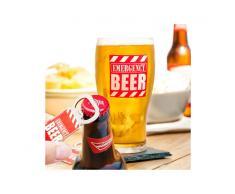 Bicchiere con Apribottiglie Emergency Beer